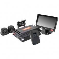 720P HDD DVR KIT - 5-CH DVR + 4 CAMERAS (INCL. 1080P FORWARD FACING)-0-876-45