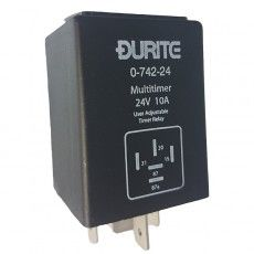 Adjustable Programmable Relay - 24V-0-742-24