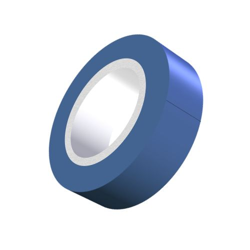 Blue PVC Adhesive Tape - 19mm x 5m-5-557-02