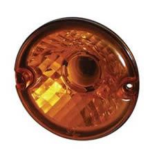 Rear Direction Indicator Lamp with Opticulated Reflector - 95mm diameter,-0-768-28