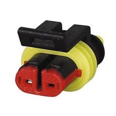 Superseal 1.50mm Female Receptacle Housing - 2 Way-3-011-62
