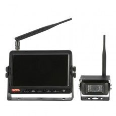 "Wireless CCTV kit - 7"" Infrared TFT LCD with Sound - 12/24V-0-776-41"
