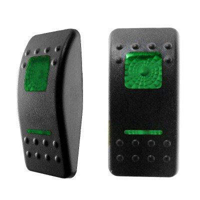 Green Lenses for Double-Illuminated Rocker Switch-0-796-94