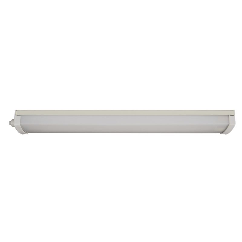 Low Profile Fluorescent Lamp in White Stove Enamelled Steel - 12V 13W-0-413-00