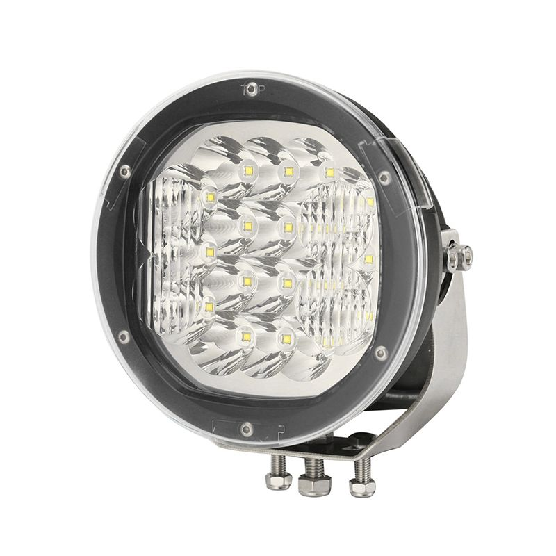 """Ultra Bright 9"""" Round LED Auxiliary Driving Lamp - 12000LM-0-537-49"""